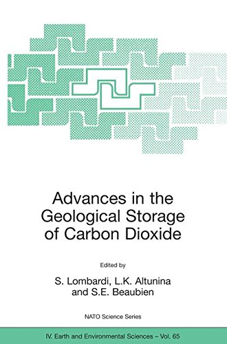 Advances in the Geological Storage of Carbon Dioxide: International Approaches to Reduce Anthropogenic Greenhouse Gas Emissions (Nato Science Series: IV:) pdf epub