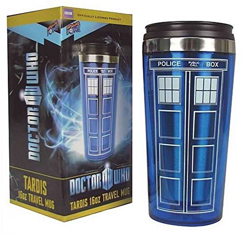 Doctor Who Tardis Mug Police Box Cup Stainless Steel Vacuum