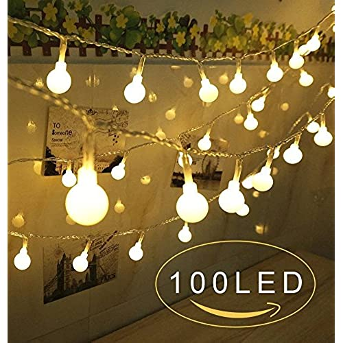 globe string lights100 led christmas lights indooroutdoor decoration lights for patio garden xmas tree wedding dorm bedroom decoration usb powered - Christmas Dorm Door Decorations