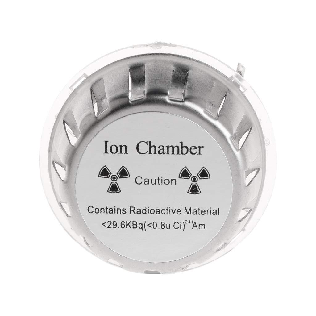 JunYe Ion Chamber Metal Geiger Fire Alarm Security System Source Smoke Detector Sensor