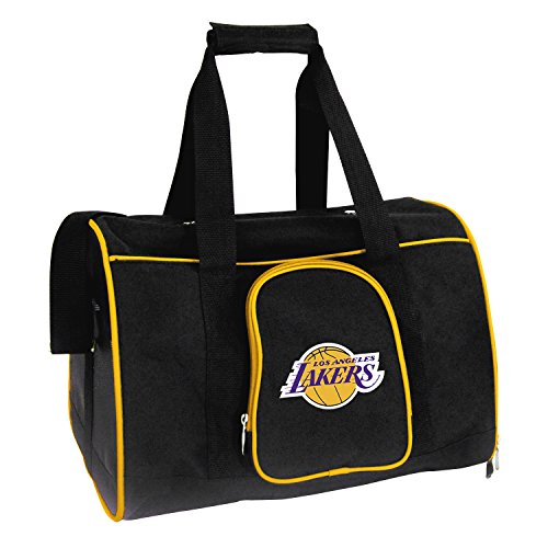 Denco NBA Los Angeles Lakers Premium Pet Carrier by Denco