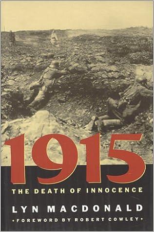 Amazon.com: 1915: The Death of Innocence (9780801864438 ...