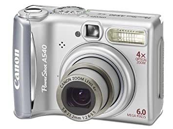 NEW DRIVERS: CANON POWERSHOT A540
