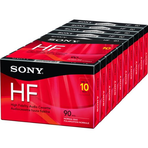 Price comparison product image Sony 10C90HFR 90 Min HiFi 10 Pack (Discontinued by Manufacturer)