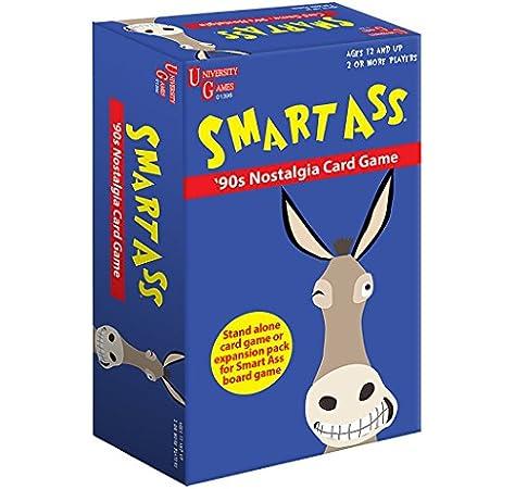 University Games Smart Ass box-01396 90 de Nostalgia Juego de Cartas: Amazon.es: Juguetes y juegos