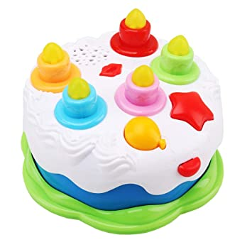 Juguete de cumpleaños para niñas, diseño de tartas con ...