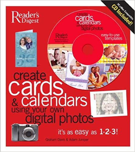 Create Gift Cards and Calendars Using Your Own Digital Photos (with CD): It's as Easy as 1-2-3!