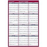 "AT-A-GLANCE 2019 Wall Calendar, 48"" x 32"", Jumbo, Erasable, Dry Erase, Reversible, Vertical/Horizontal (PM32628)"