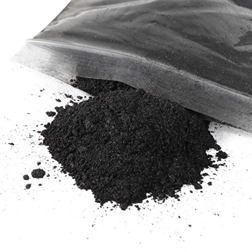 Mica Powder Pigment-for Use in Epoxy, Soap Making, Resin, Artwork, Crafts and More! 50 Grams of Brilliant Color! (Black Pearl)