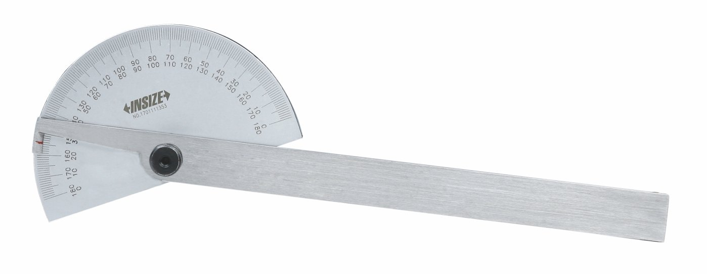 85 mm x 150 mm INSIZE 4780-85 Protractor 0-180 Degree