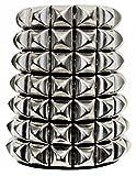 Search : Punk Wristband 69 Pyramid Studs