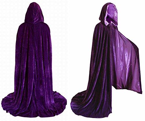Velvet Renaissance Medieval Cloak lined product image