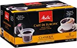 melitta pods medium - Melitta Single Cup Coffee for K-Cup Brewers, Cafe de Europa Classique, Medium Roast, 12 Count