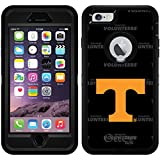 University Of Tennessee - Dark Repeating design on Black OtterBox Defender Case for iPhone 6 Plus and iPhone 6s Plus