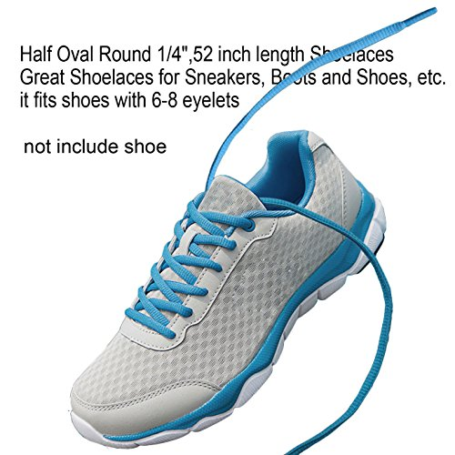 OVAL Athletic Sports Boot Round Sneaker SHOELACES 45 Inch shoe lace string