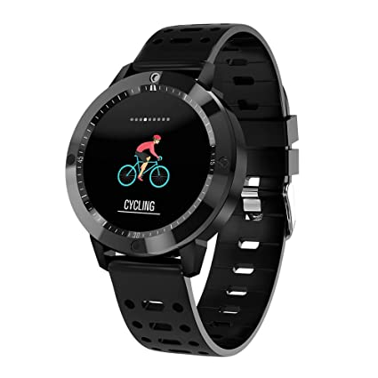 Sammid Fitness Tracker, Multifunction Smart Watch IP67 Waterproof Fast Charging Blood Pressure Blood Oxygen Heart