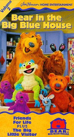 little bear friends vhs - 2