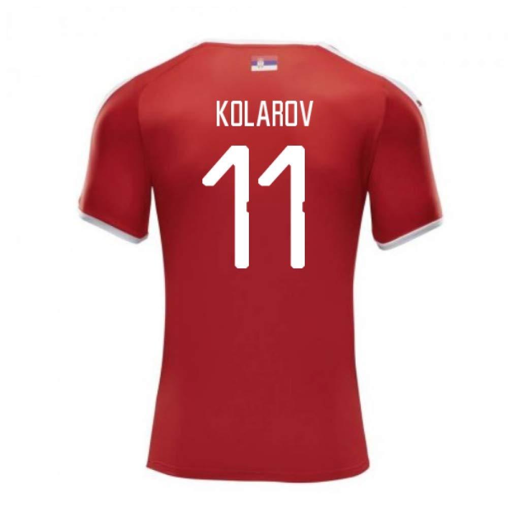 納得できる割引 2018-2019 (Aleksandar XXL Serbia Home Puma Football Shirt (Aleksandar Kolarov 11) Kolarov B07DK9VBKV XXL Adults|Red Red XXL Adults, アールエスハンガースタジオ:ff27e58a --- svecha37.ru