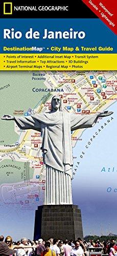 Rio de Janeiro (National Geographic Destination City Map)