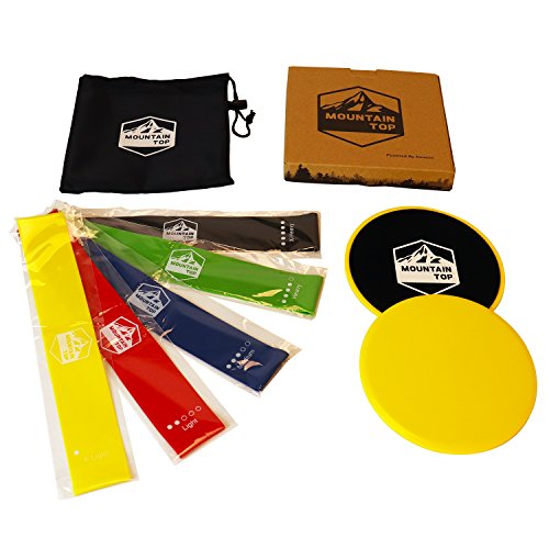 FLASH SALE! Mountain Top Products -Gliding Discs and Resista