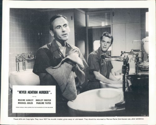 Not in the least MENTION MURDER DUDLEY FOSTER SCRUBS UP LOBBY CARD