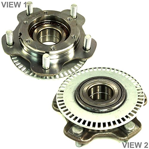 [APDTY 513193 Wheel Hub Bearing Fits Front Left or Front Right 2001-2004 Chevy Tracker 2001-2005 Suzuki Vitara or Grand Vitara 2002-2006 XL-7 (Replaces 30025890,30025891,43401-65D00,43401-65D10)] (Chevy Tracker Wheels)