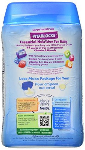 Gerber Baby Cereal, Multigrain, 8 Ounce