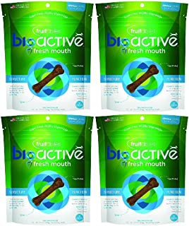 product image for Fruitables BioActive Fresh Mouth Dental Dog Treats, Small 60ct (4 x 15ct)