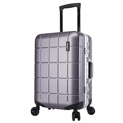 Viaje llevar equipaje de cabina Maletín de aluminio ...