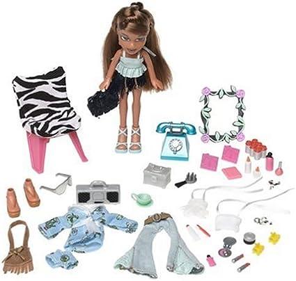 Amazon Com Mga Lil Bratz Fashion Tote Yasmin Toys Games