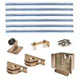 ALEKO GHK04 V-Groove Heavy Duty Sliding Gate Hardware Kit For Sliding Gate