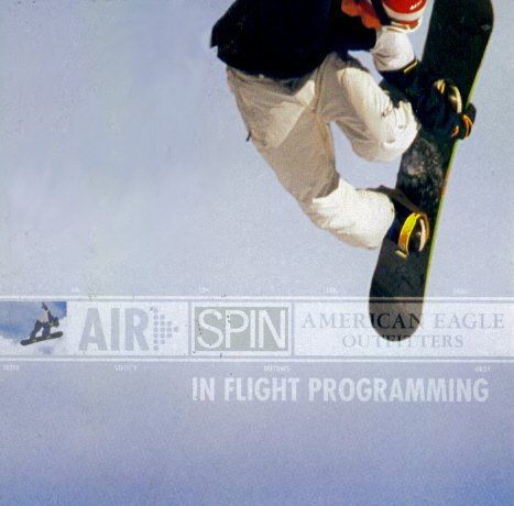Price comparison product image American Eagle Outfitters - Air Spin In Flight Programming