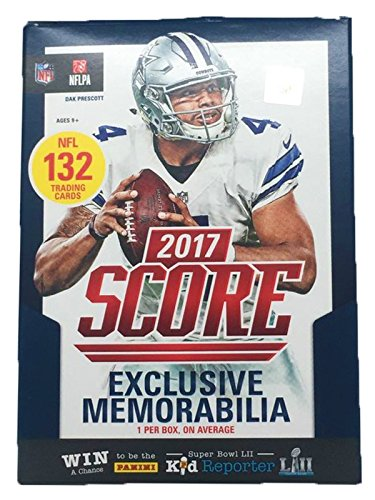 2017 NFL Score Football Cards Factory Sealed Panini Retail Import It All