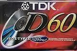 TDK D60 IECi/TypeI High Output Blank Cassette Tape