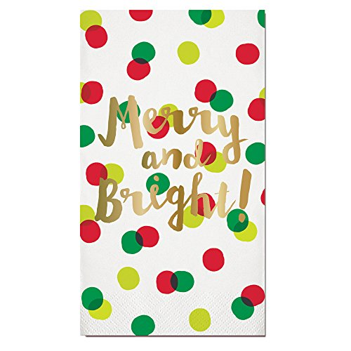 (Guest Towels Christmas Bathroom Decor Christmas Party Paper Hand Towels Pack 32)