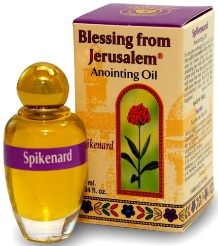 Spikenard - Blessing from Jerusalem Anointing oil - 10ml ( .34 fl. oz. ) by Bethlehem Gifts TM