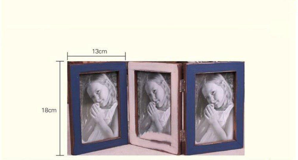 Kaige marco dela foto Portaretrato marco plegable foto marco retro: Amazon.es: Hogar