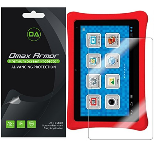 Dmax Armor [3-Pack] for Nabi 2 / Nabi 2S 7-inch Tablet Screen Protector High Definition Clear Shield (Nabi Screen Protector)
