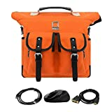Lencca Outdoor Cycling Backpack Travel Totes Messenger Shoulder Bag For Toshiba 11.6 Inch Tablet & HDMI Transfer & Computer Mouse & USB 2.0 Cable