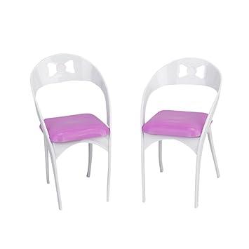 2 Stück Abnehmbare Puppenhaus Möbel Stühle für Puppen  Amazon.de  Spielzeug 97f5075211