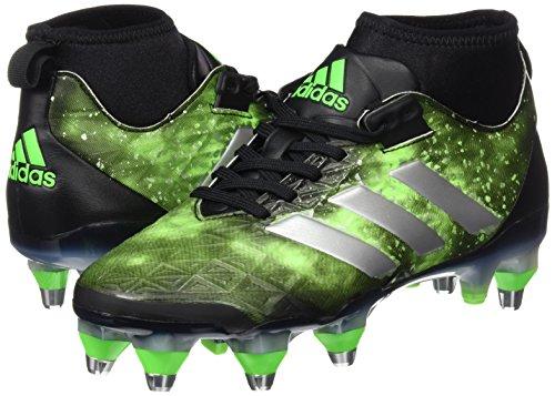 adidas Kakari Force SG - Botas de rugby para Hombre, Negro - (NEGBAS/PLAMET/VERSOL) 39 1/3