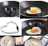 1Pcs Stainless Steel Fried Egg Mold Shaper Pancake Maker Cooking Tools Kitchen Accessories