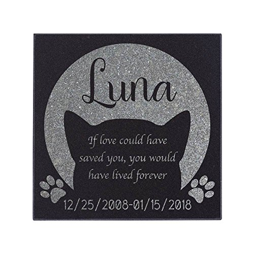 Personalized Pet Memorial Stone Customized Memorial Stone for Loved One