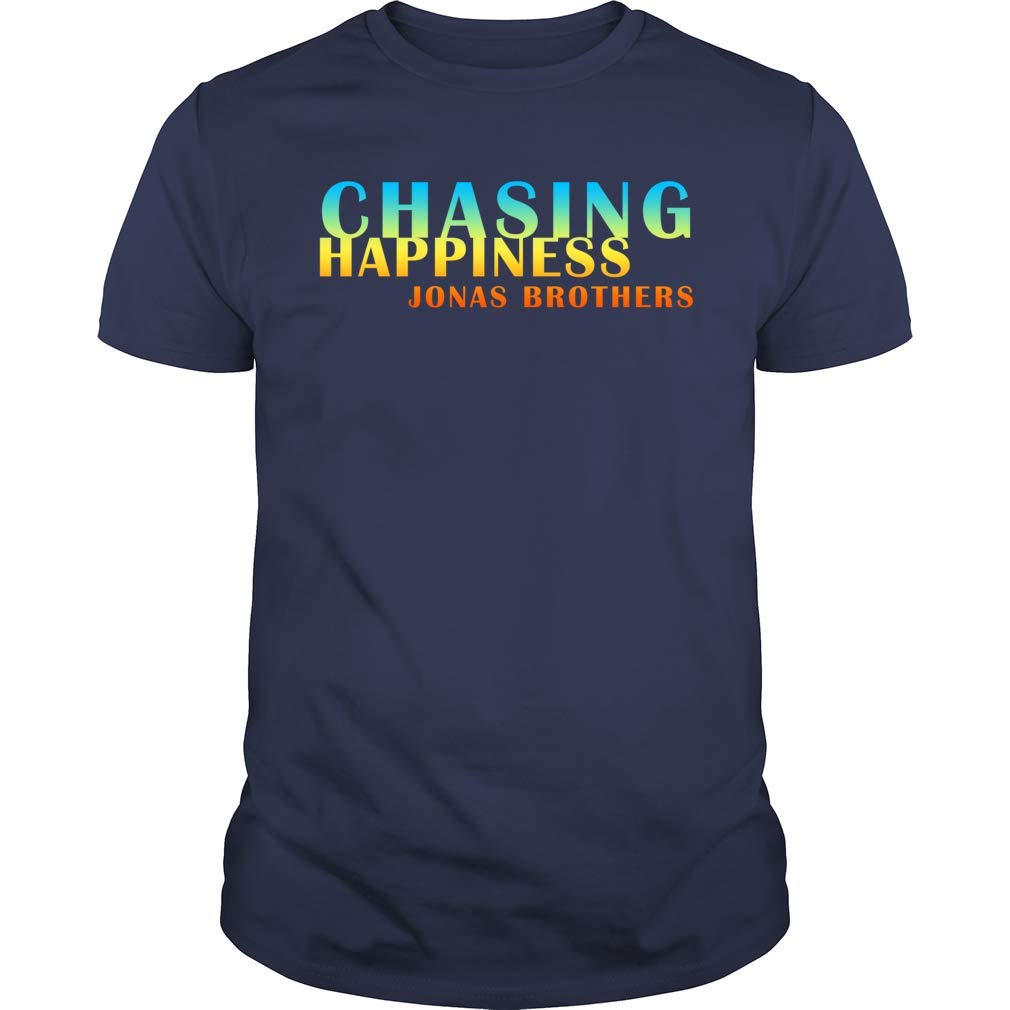 Jonas Brothers Chasing Happiness Premium Vintage T Shirt