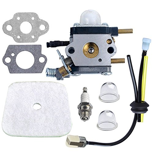 New Amazingli Carburetor Carb with Air Filter + Spark Plug + Gaskets + Primer Bulb Repower Kit C1U-K...