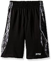 STX Boys' Open Hole Mesh Athletic Shorts
