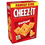 Cheez-It Baked Snack Cheese Crackers, Original, Family Size, 21 oz Box