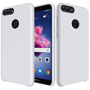 CoverTpu Funda Huawei Honor 9 Lite Silicona, Blanco Funda Líquido ...