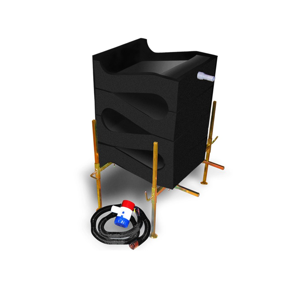 Gold Cube 4 Stack Deluxe Gold Sluice - Gold Mining by Gold Cube