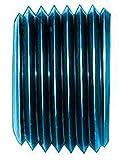 Aeroquip FCM3749 Blue Anodized Aluminum 1/2'' NPT Allen Head Pipe Plug